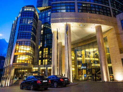 Hilton Hotel in Kyiv