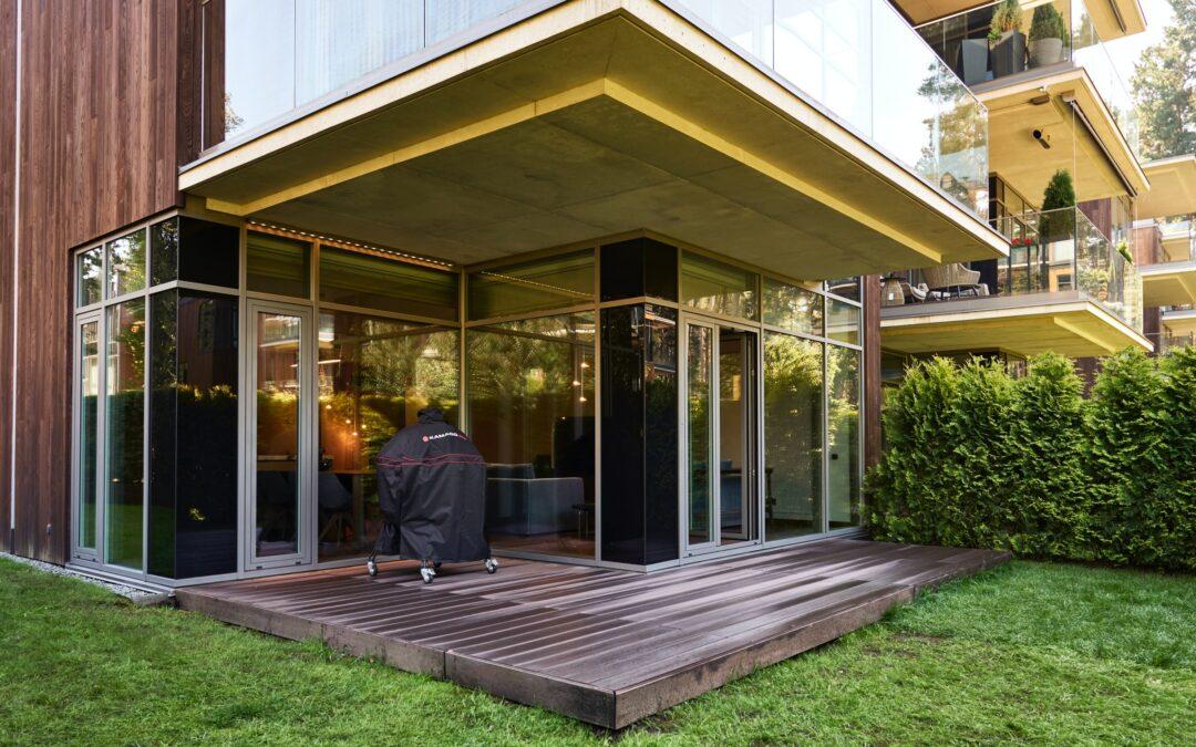 Contemporary residence in Jurmala. Arch. Elena Sharapova
